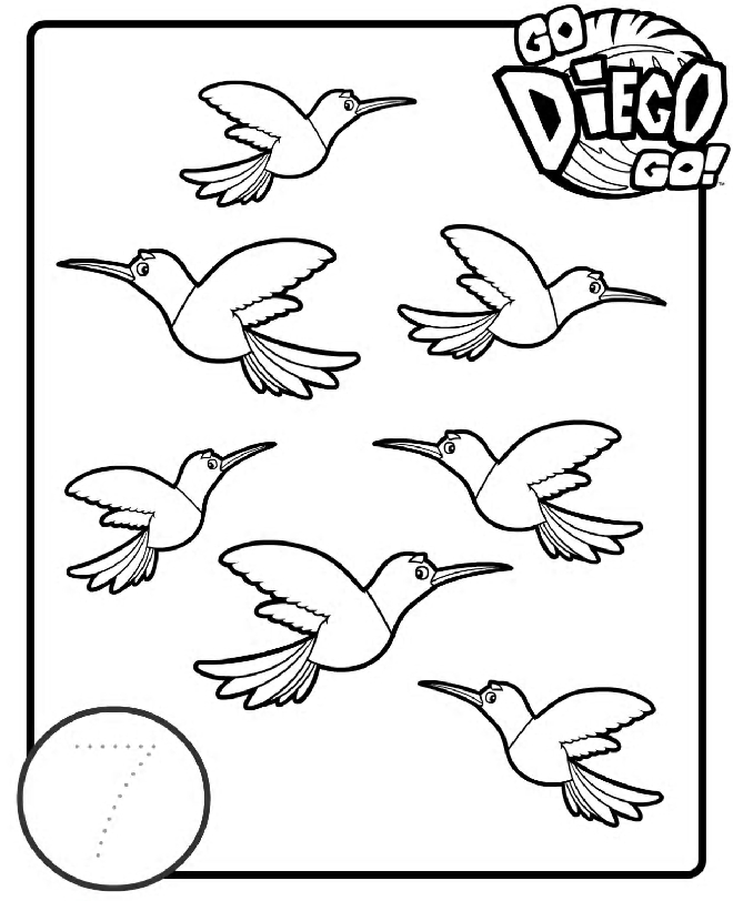 dora coloring pages - 3427