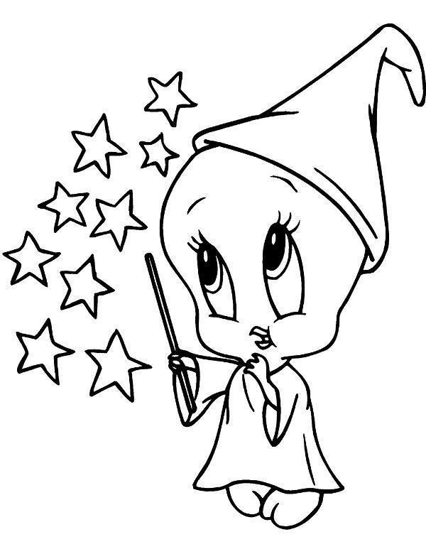 dora coloring pages - malowanki tweety 3