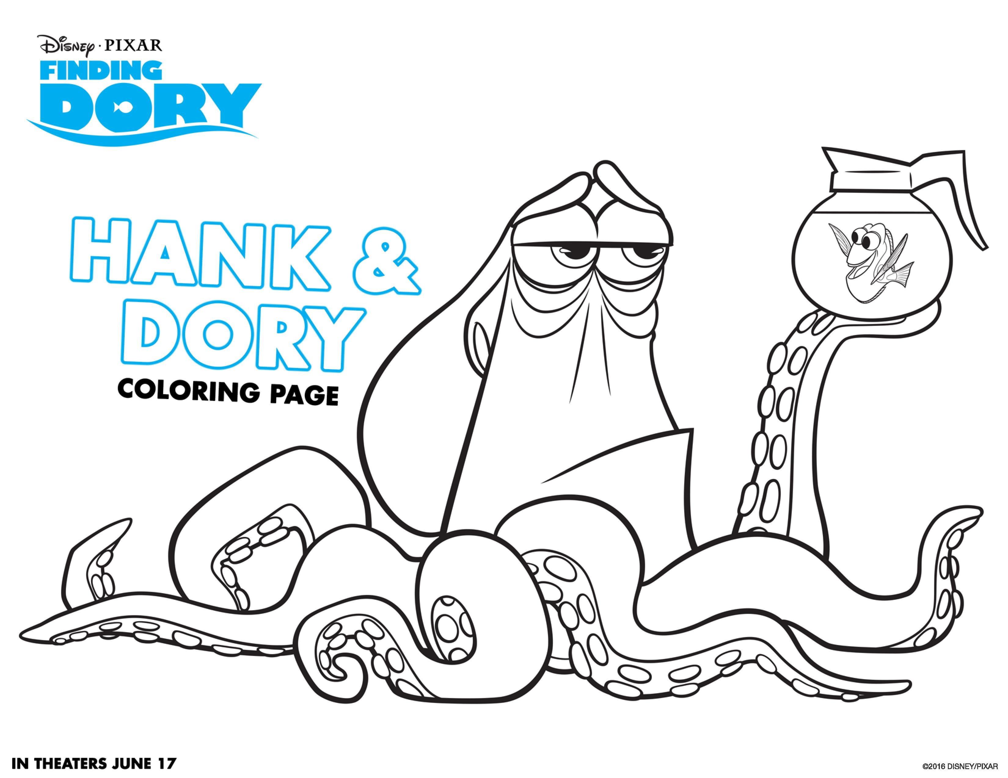 dory coloring pages - finding dory coloring pages and activity sheets
