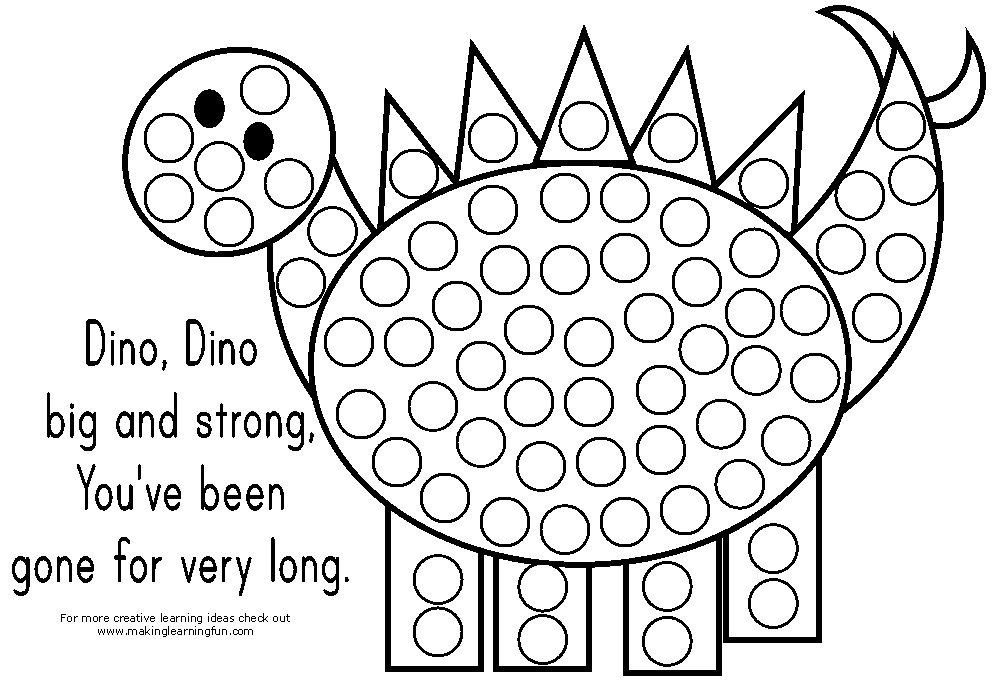 dot coloring pages - q=rainbow do a dot