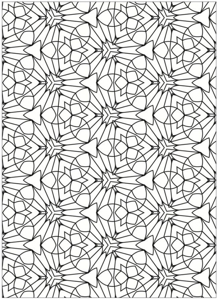 dr seuss coloring pages - free tessellation coloring pages adult printable