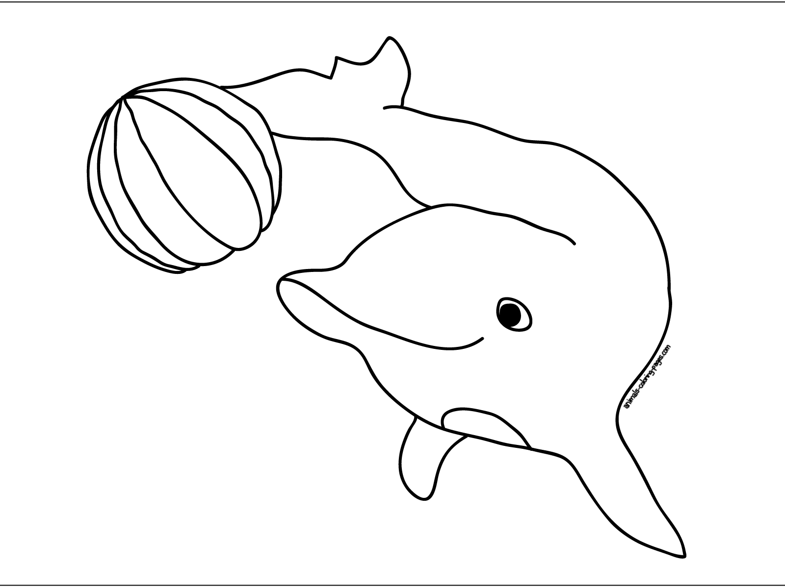 dr seuss coloring pages printable - dolphin coloring pages