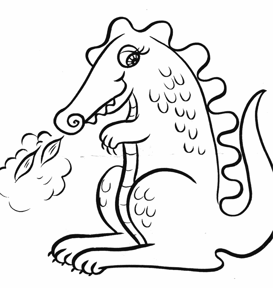 dr suess coloring pages - dragon coloring pages