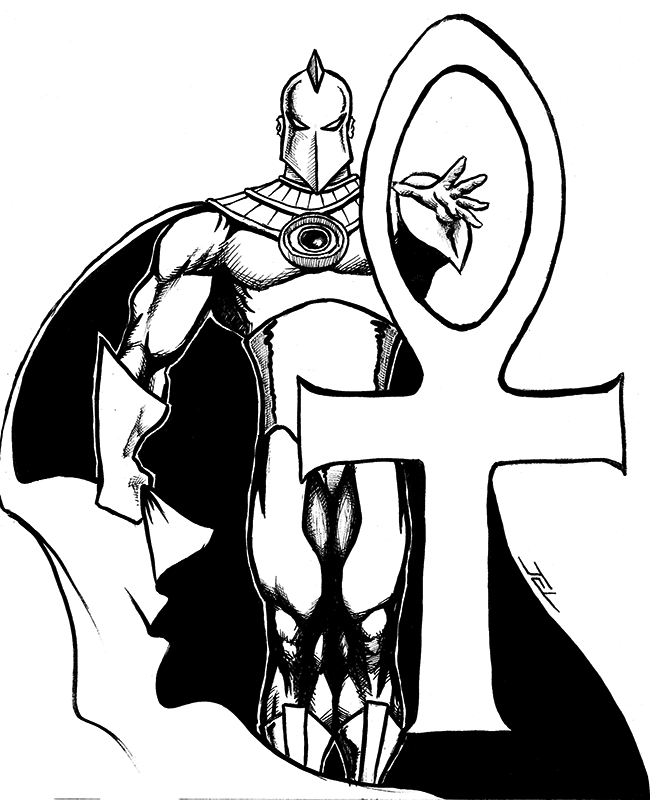 Dr who Coloring Pages - Dr Fate by Jevanlee On Deviantart