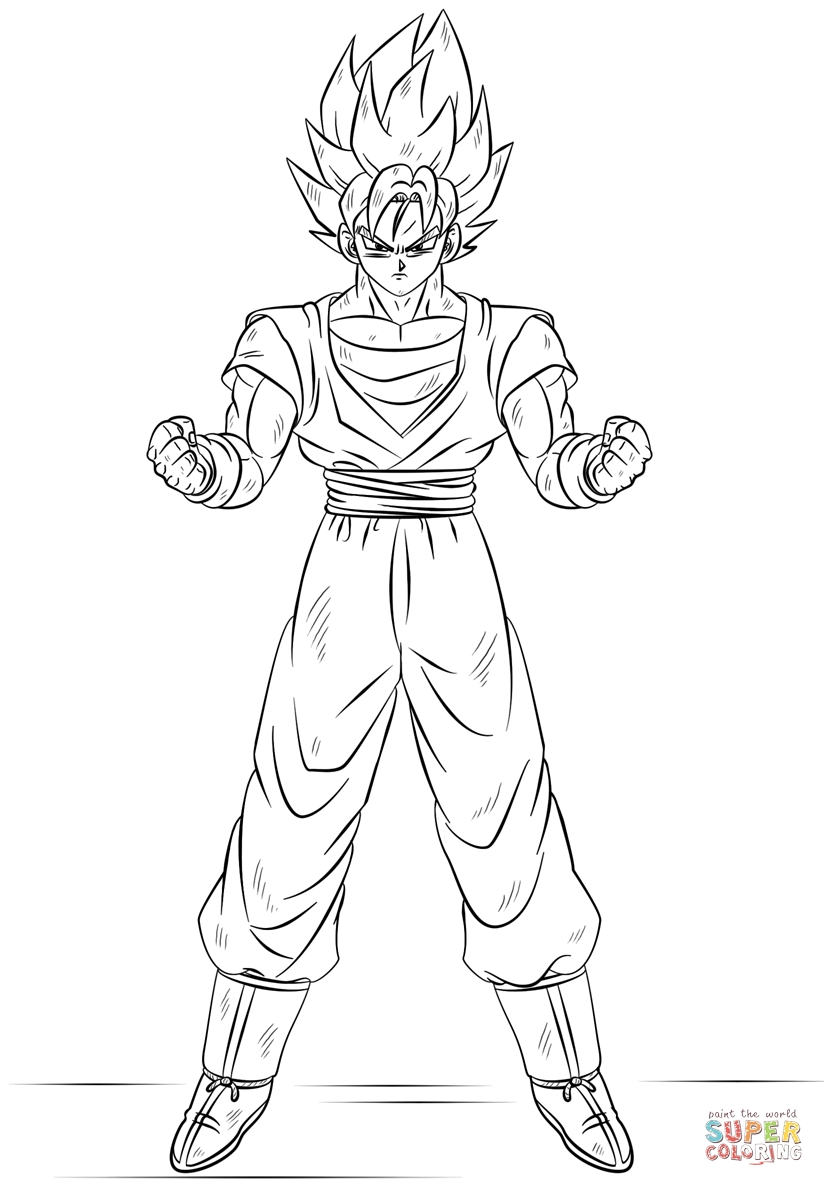 dragon ball super coloring pages - dragon ball super coloring pages