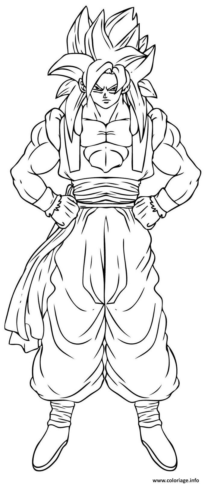 dragon ball z coloring pages - dragon ball z 143 coloriage