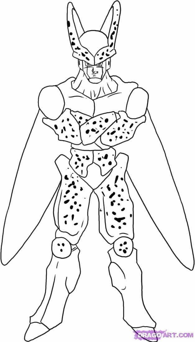 dragon ball z coloring pages - dragon ball z pictures to color