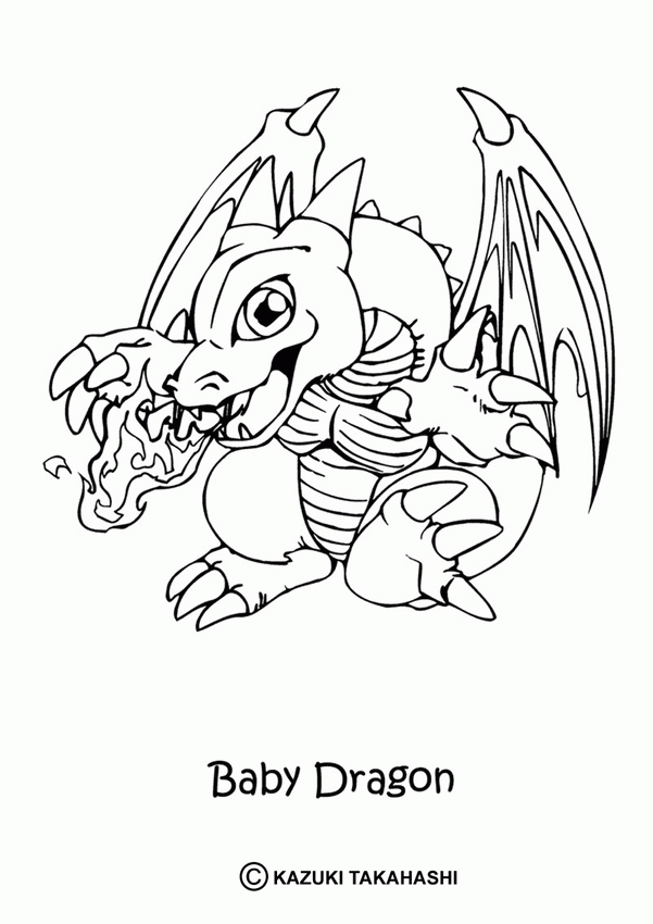 dragon coloring pages - dragon pictures to colour