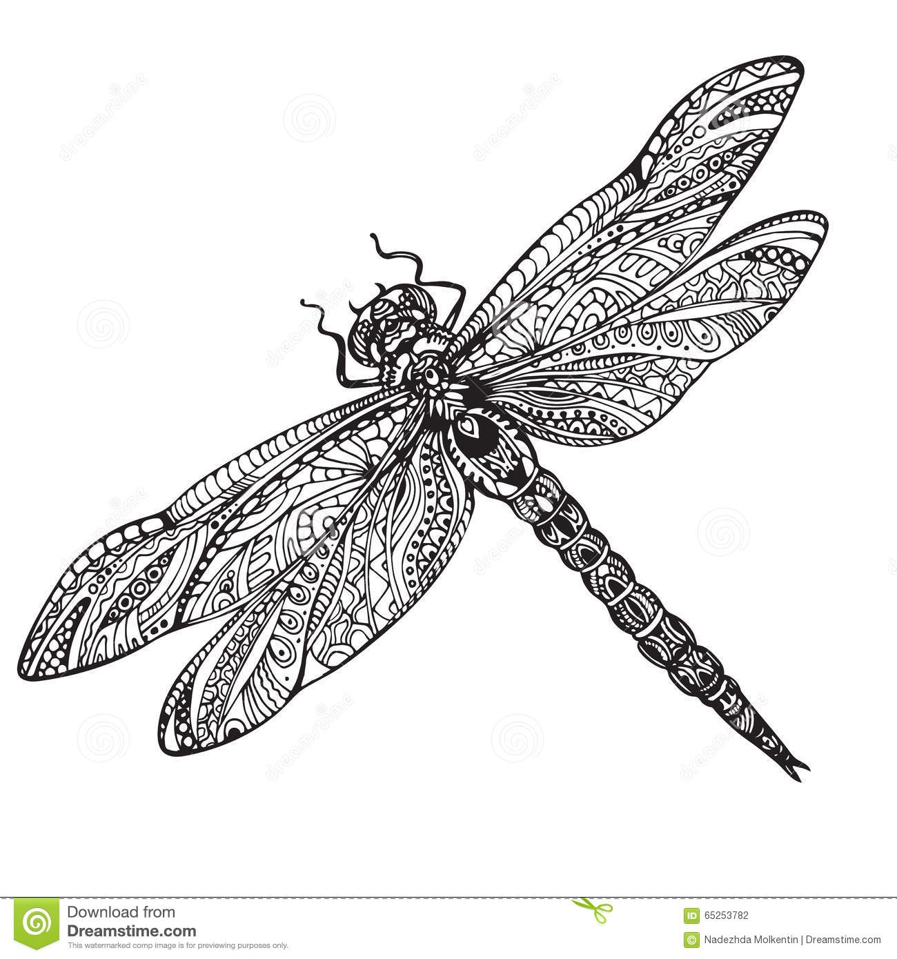 21 Dragonfly Coloring Page Compilation Free Coloring Pages