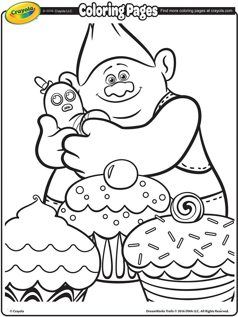 28 Dreamworks Trolls Coloring Pages Images | FREE COLORING PAGES