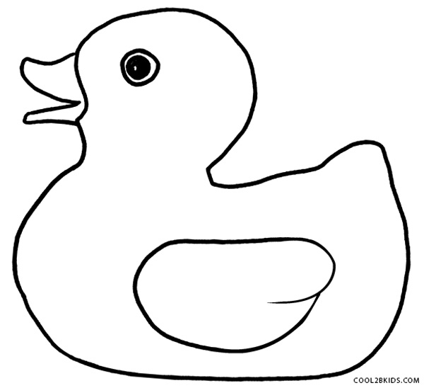 duck coloring pages - rubber duck coloring pages to print sketch templates