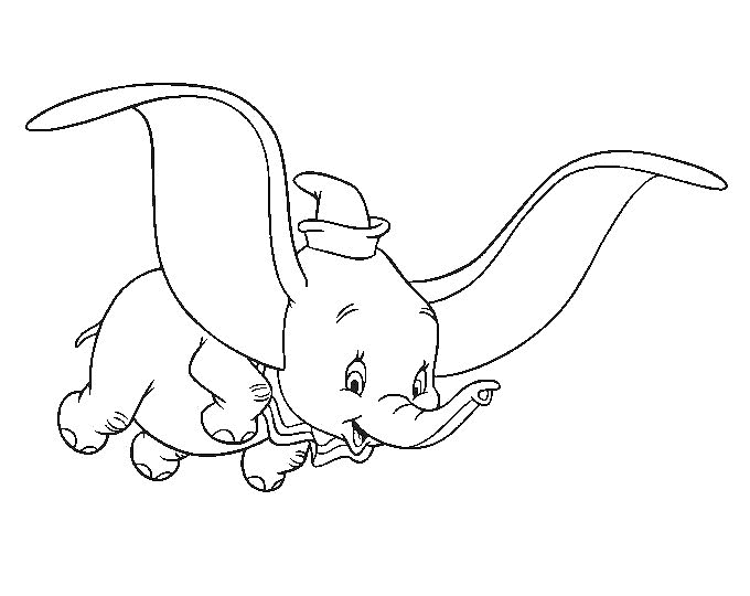 dumbo coloring pages - dumbo