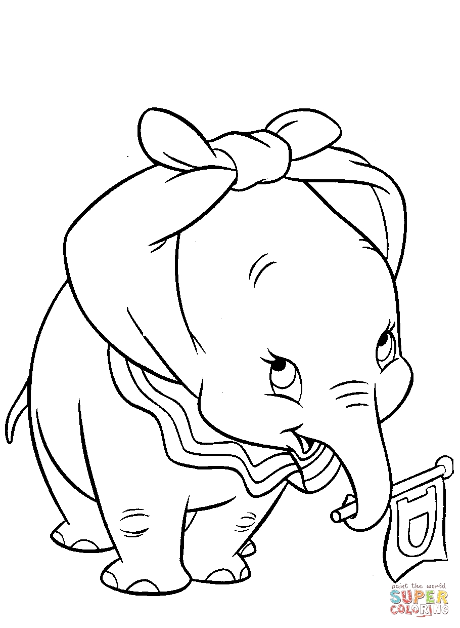28 Dumbo Coloring Pages Compilation   FREE COLORING PAGES - Part 2
