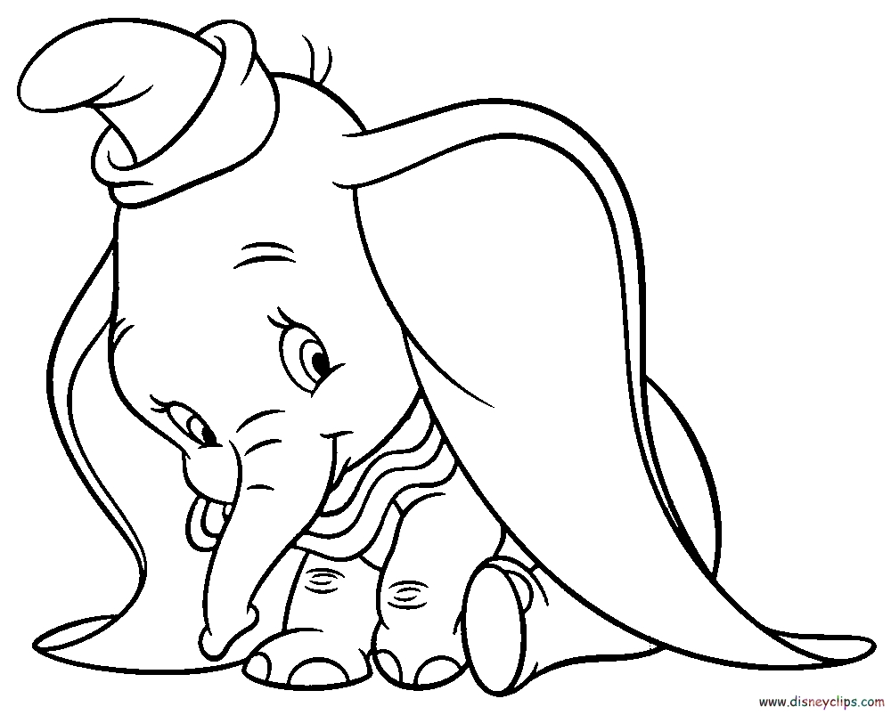 dumbo coloring pages - q=disney dumbo