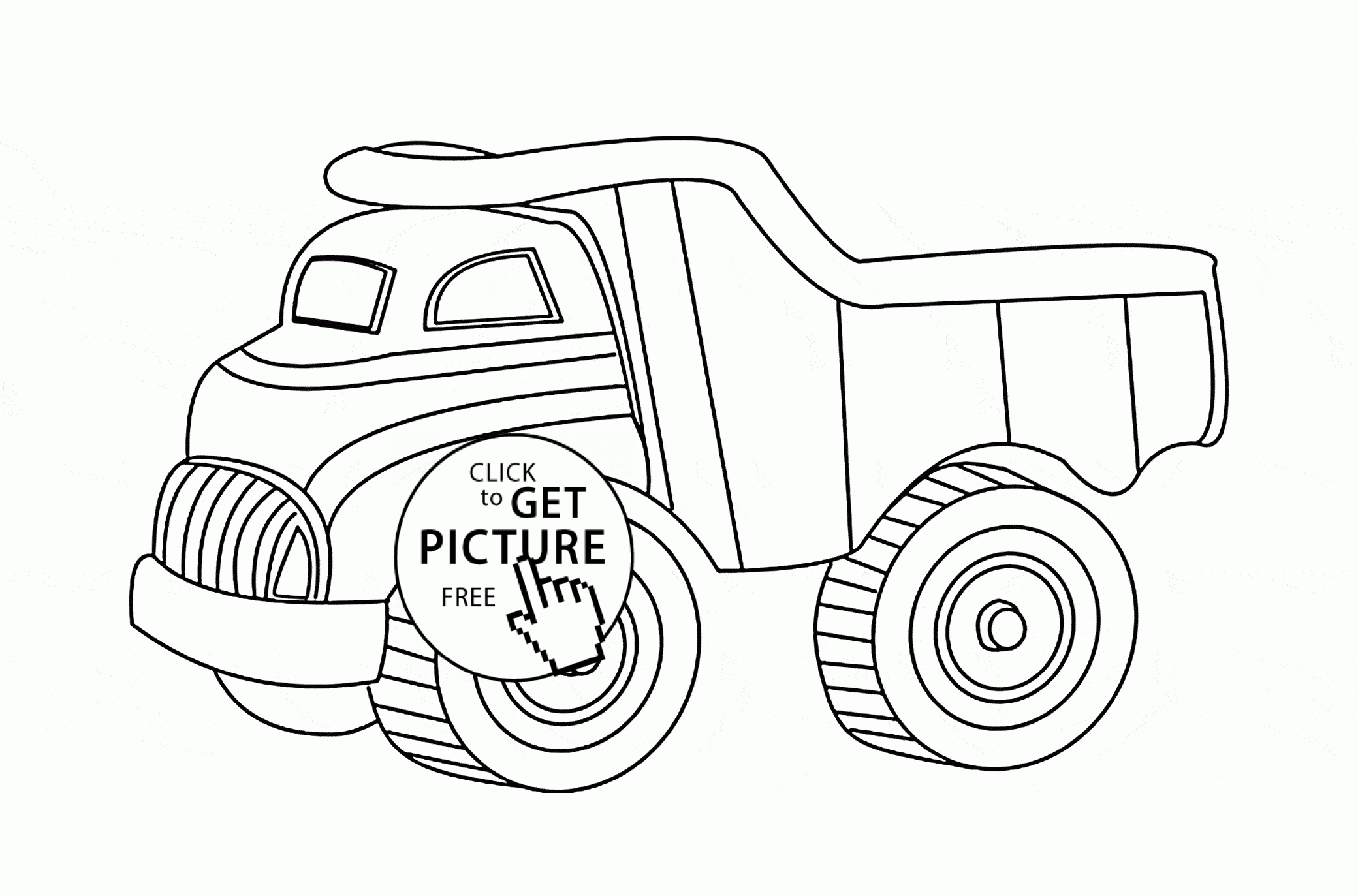dump truck coloring pages - toy dump truck coloring page for kids transportation coloring pages printables free