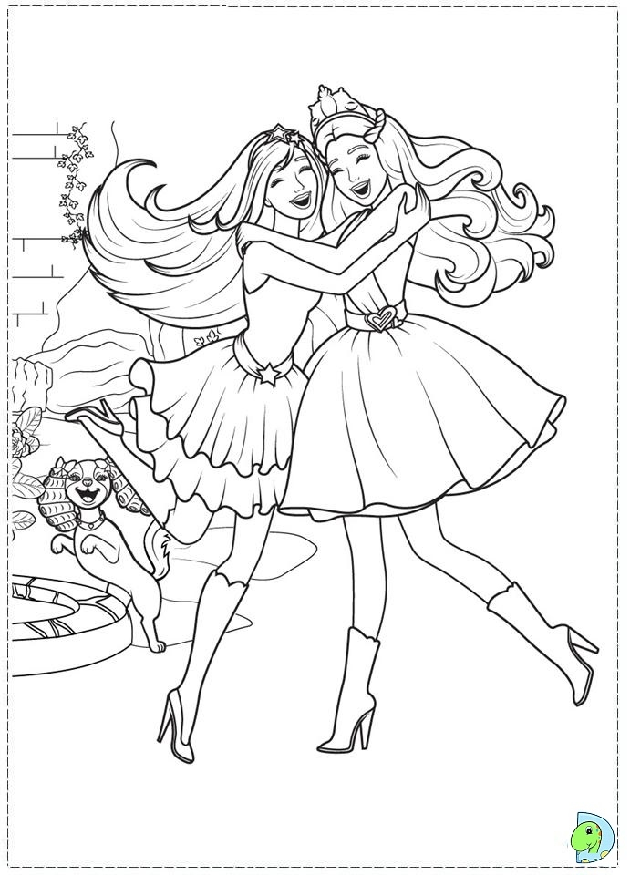 e coloring pages - desenho barbie butterfly