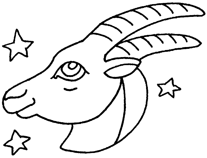 e coloring pages - sternzeichen