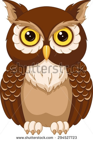 eagle coloring pages - owl