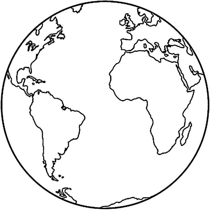 Earth Coloring Pages - 1000 Ideas About Earth Coloring Pages On Pinterest