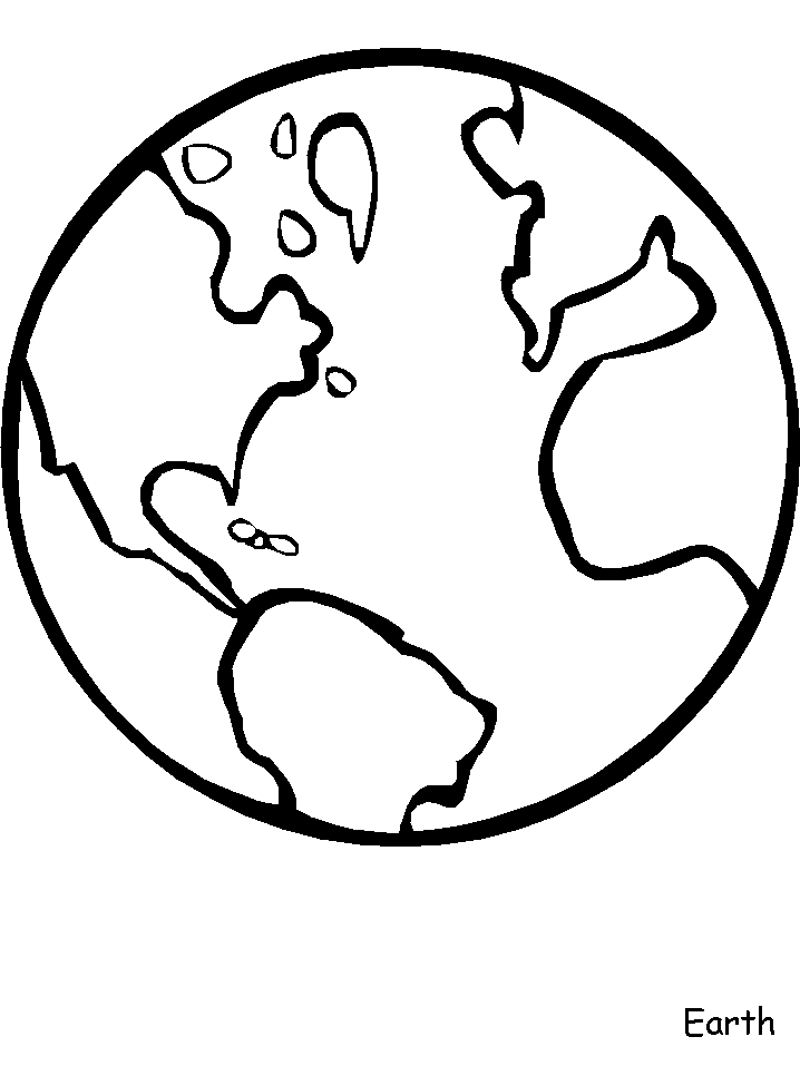 earth coloring pages - earth day coloring pages
