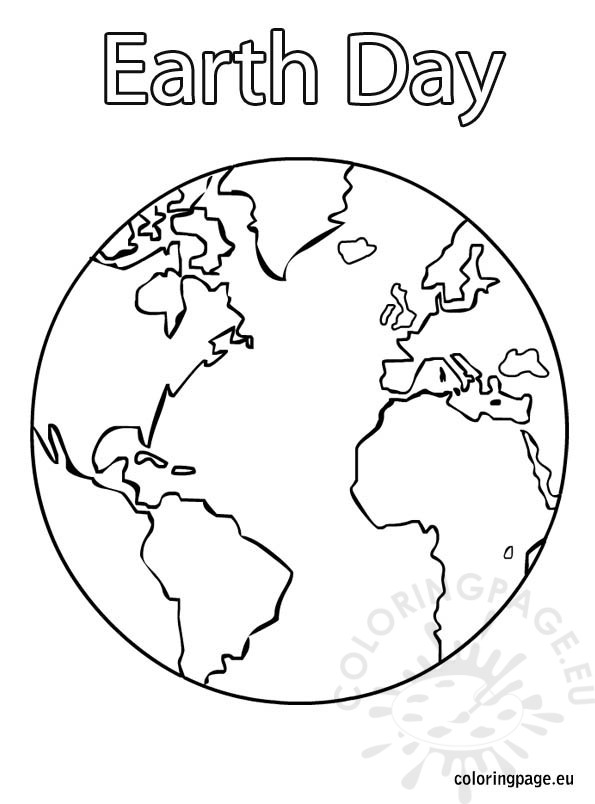 earth day coloring pages - earth day