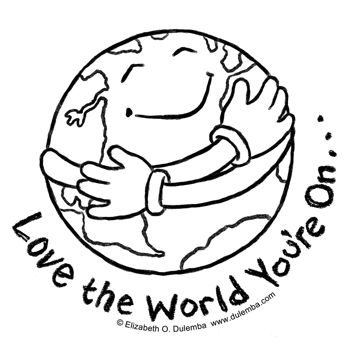 Earth Day Coloring Pages - Information World Earth Day Coloring Pages