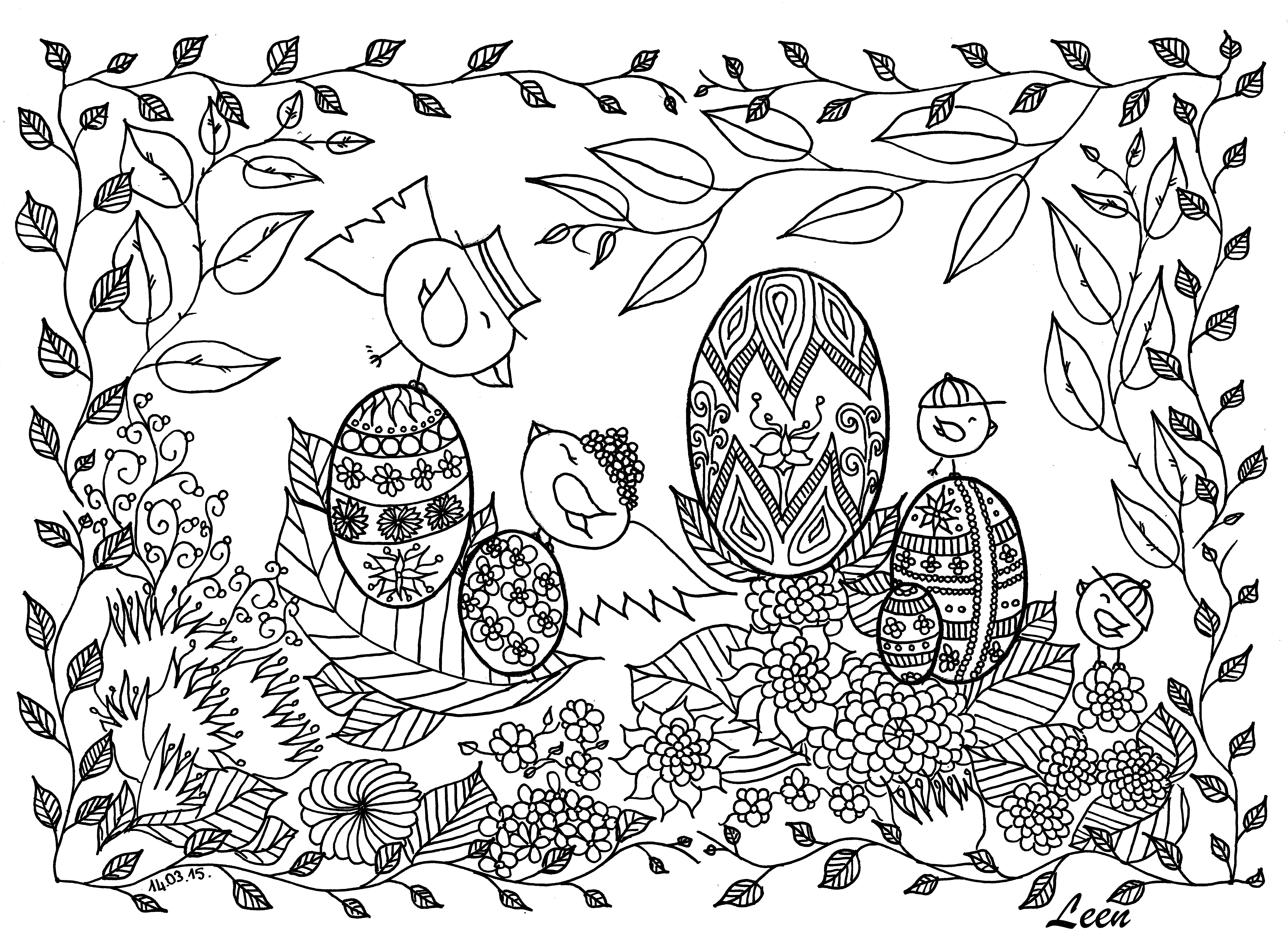 20 easter adult coloring pages printable free coloring pages part 2