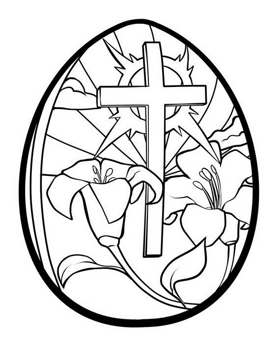 easter adult coloring pages -