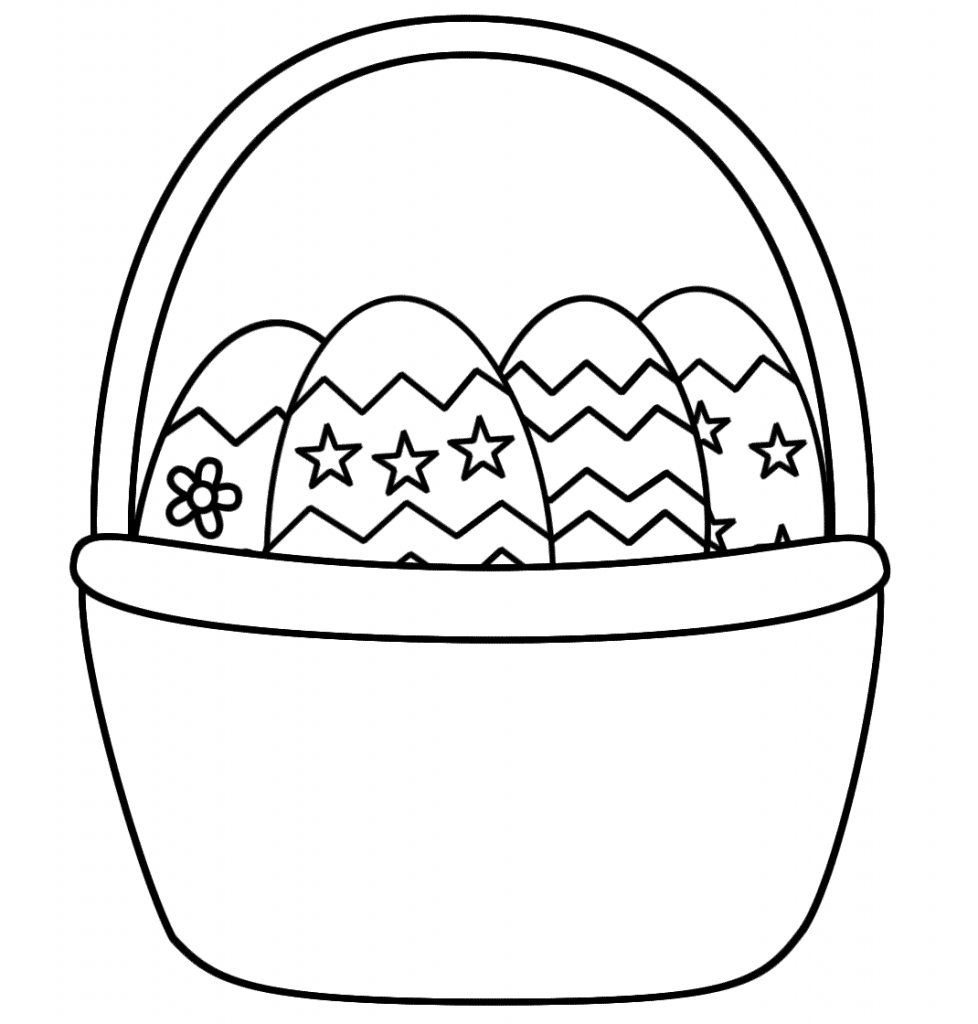 23 Easter Basket Coloring Pages Printable | FREE COLORING PAGES