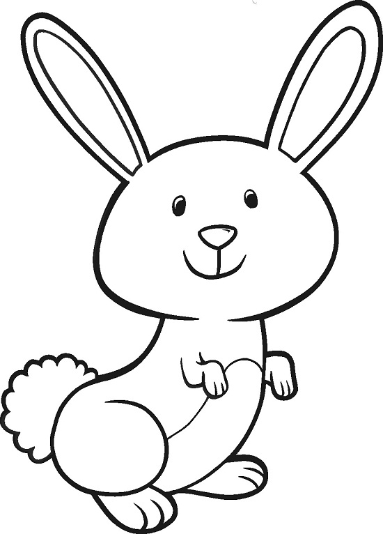 easter bunny coloring pages - easter bunny coloring pages