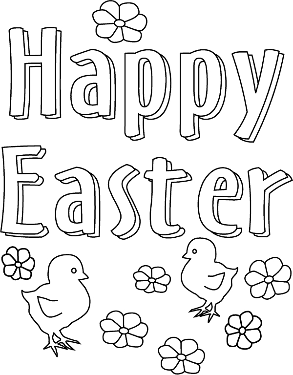 easter coloring pages free printable - free printable easter coloring pages