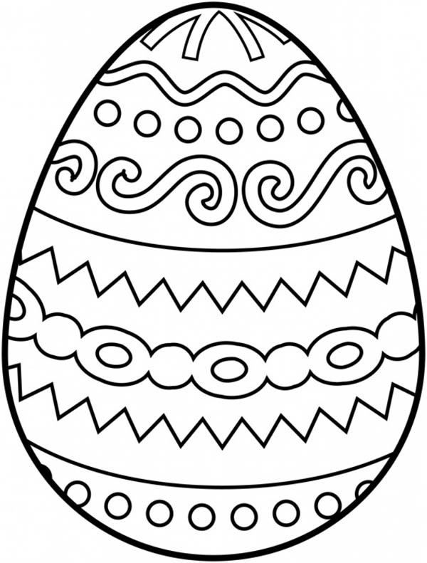 easter egg designs coloring pages - cool free printable easter coloring pages for kids