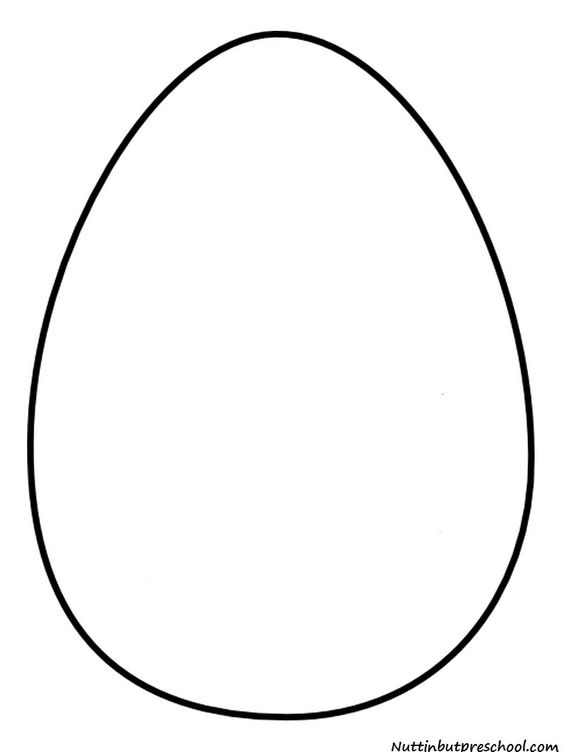 easter egg designs coloring pages - easter egg template printable
