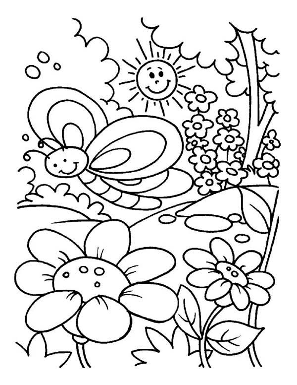 easter egg designs coloring pages - gardening coloring pages
