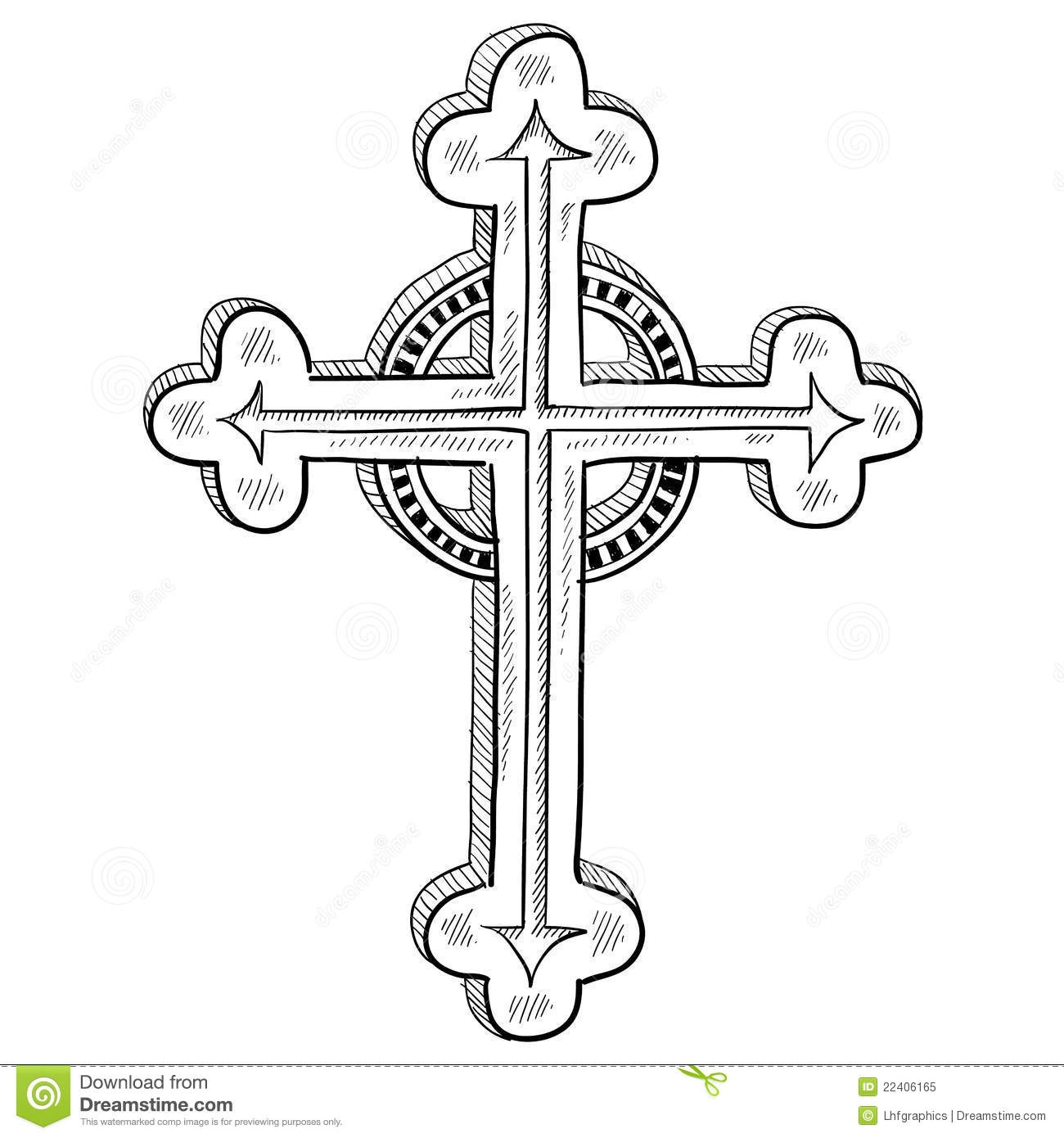 easter egg designs coloring pages royalty free stock photo orthodox cross sketch image