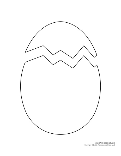 easter egg designs coloring pages - easter egg templates