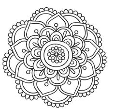 easy adult coloring pages -
