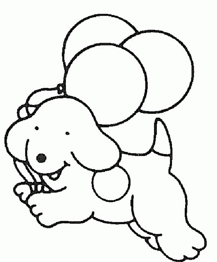 easy coloring pages -