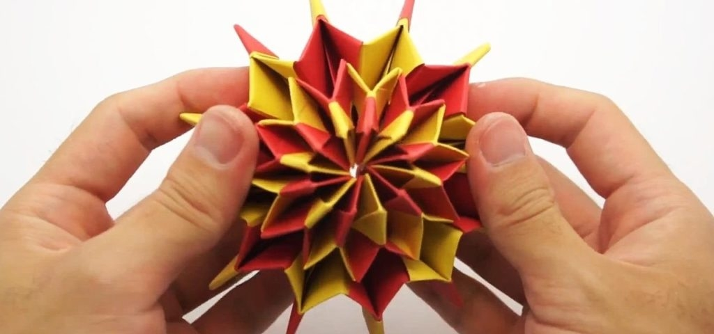 educational coloring pages - how to make colorful fireworks using origami paper a origami 5