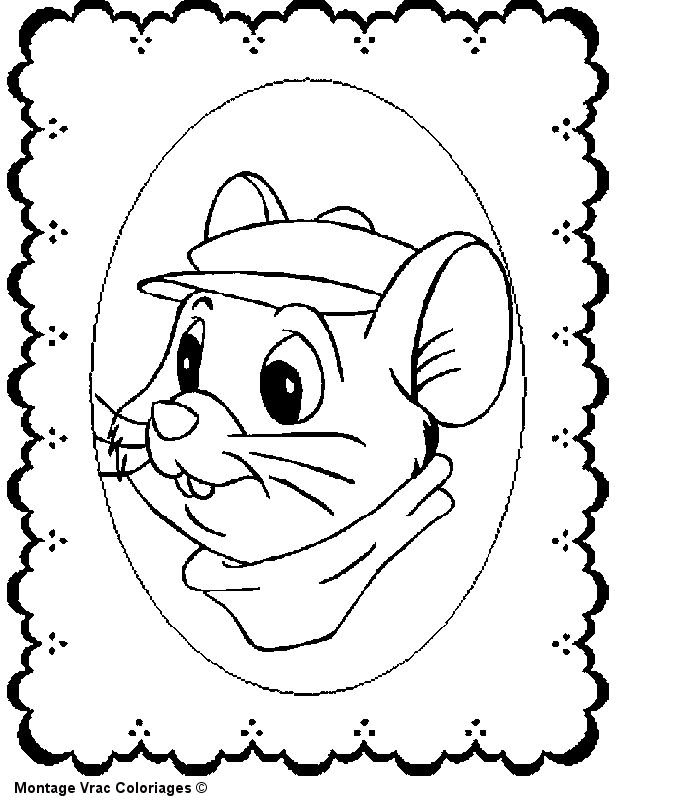 egyptian coloring pages - aventures de bernard et bianca