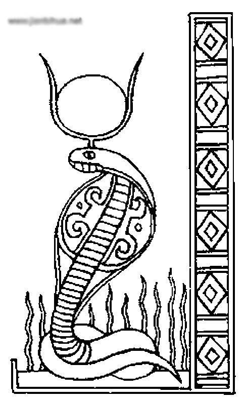 egyptian coloring pages -