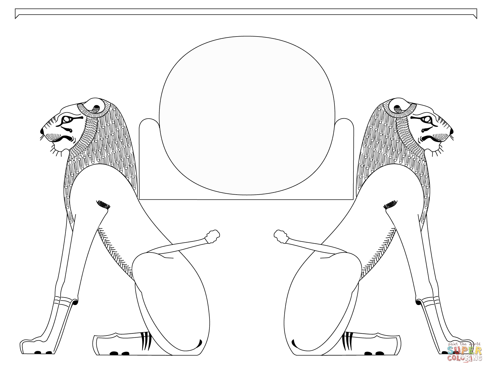 egyptian coloring pages - egyptian coloring pages