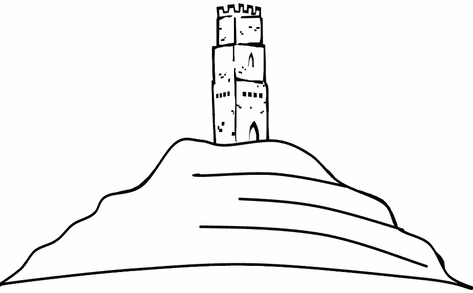 eiffel tower coloring page - coloriage Angleterre 0