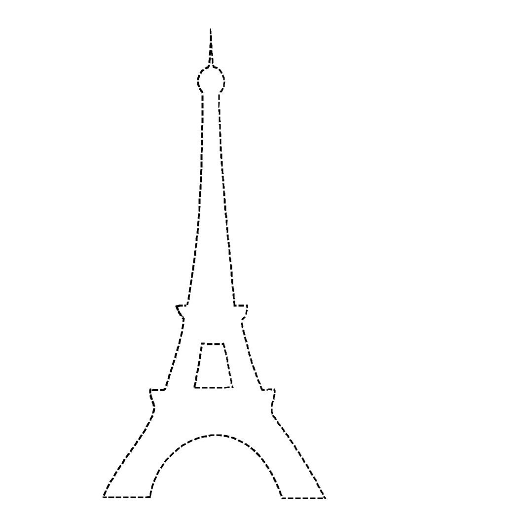 Eiffel tower Coloring Page - Eiffel tower Coloring Pages Bestofcoloring