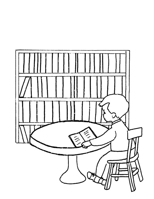 eiffel tower coloring page - library be quiet please coloring pages