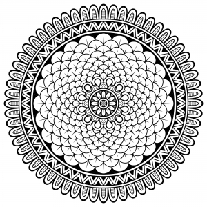 elephant adult coloring pages - q=mandala