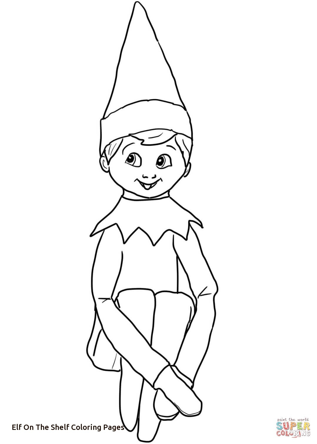 28 Elf Coloring Pages Printable Images | FREE COLORING PAGES - Part 3