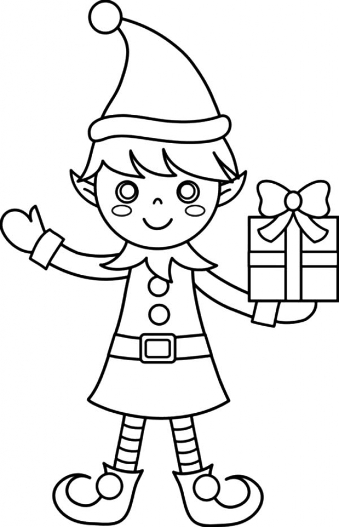 elf coloring pages printable - elves coloring pages risingupagainstfgm inside elf printable coloring pages