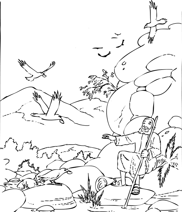 elijah coloring pages - elijah coloring pages
