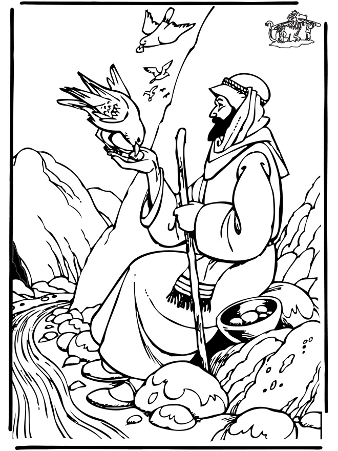 Elijah Coloring Pages - Elijah Coloring Pages Coloring Pages